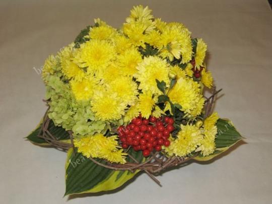 Букет на 1 сентября из садовых цветов своими руками фото